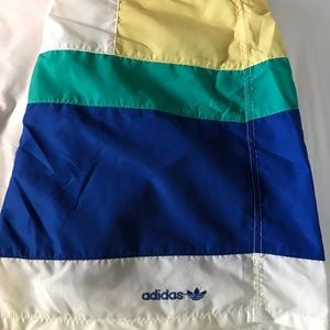 Vintage Adidas Snap front bathing suit. Like New!